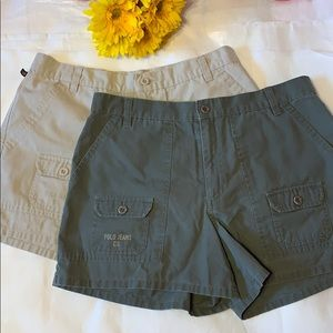 RALPH LAUREN POLO BUNDLE OF 2 PAIRS OF SHORTS